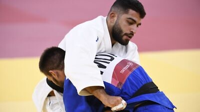 Israeli judoka Tohar Butbul. Source: Israel Olympic Committee/Facebook.