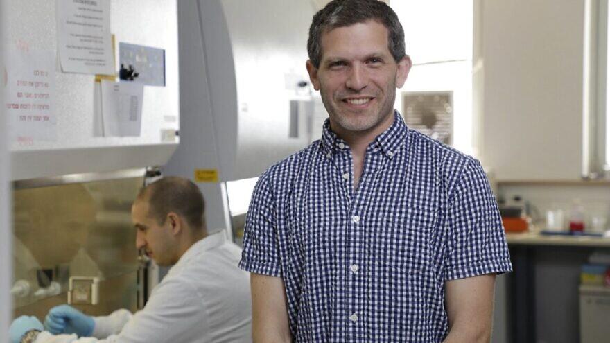 Dr. Ben Maoz. Photo courtesy of Tel Aviv University.