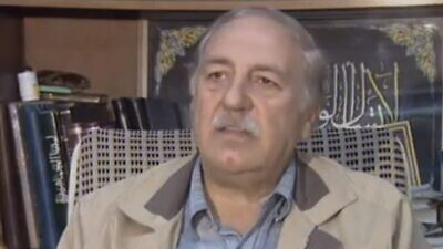 Ahmed Jibril, founder of the PFLP-GC, died, age 83, on July 8, 2021. Source: YouTube.