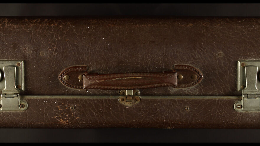 The suitcase Hannah Senesh used to move from Hungary to what was then British Mandatory Palestine. Credit: The National Library of Israel.