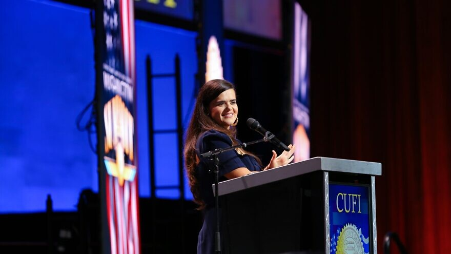 Sandra Hagee Parker, chair of the CUFI Action Fund. Credit: CUFI.