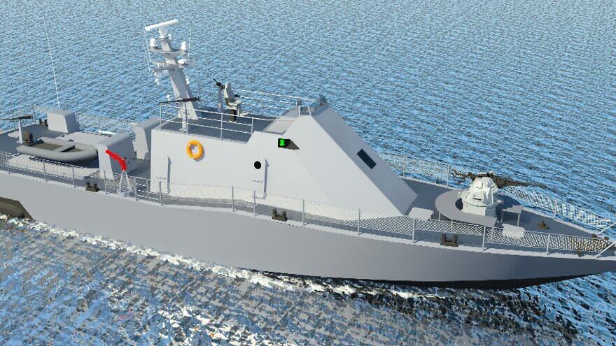 The new Shaldag MK V fast-patrol vessel. Credit: Israel Shipyards.