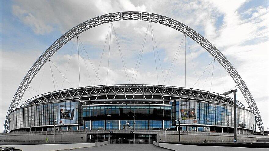 Wembley Stadium in the United Kingdom. Credit: Wikimedia Commons.