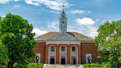 Johns Hopkins University in Baltimore. Credit: Andrea Izzotti/Shutterstock.