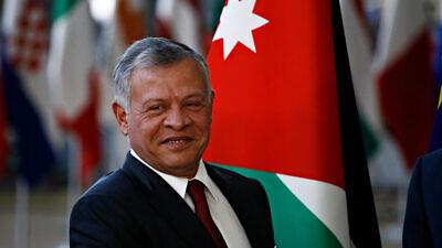 King Abdullah II of Jordan in 2018. Credit: Alexandros Michailidis/Shutterstock.