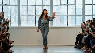 Fashion designer Berta Balilti walks the runway during the Berta Bridal Spring 2020 fashion collection at New York Fashion Week on April 12, 2019. Credit: FashionStock.com/Shutterstock.