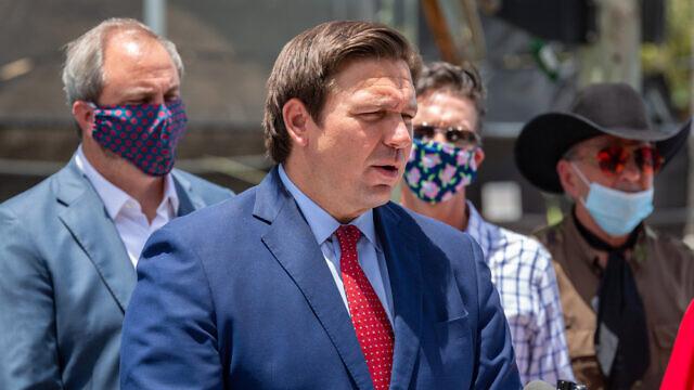 Florida Gov. Ron DeSantis in June 2020. Credit: YES Market Media/Shutterstock
