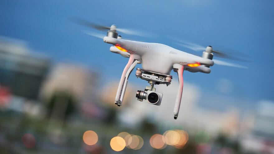 Drone quadcopter with digital camera. Credit: Dmitry Kalinovsky/Shutterstock.