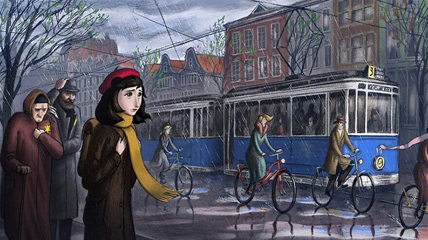 "A scene from the film ""Where Is Anne Frank?"" Source: Screenshot/IMDB."