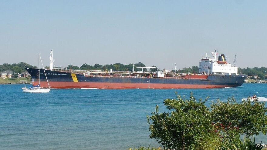 "The tanker ""Thalassa Desgagnes,"" now known as ""Asphalt Princess,"" July 4, 2010. Credit: Wikimedia Commons."