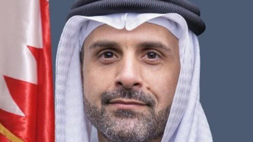Khaled Al Jalahma, the first-ever Bahraini ambassador to Israel. Source: Twitter.