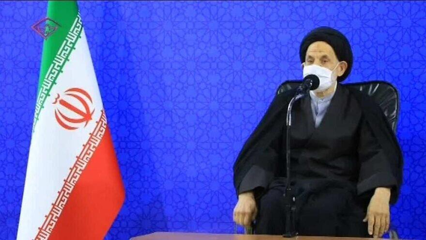 A public address by Iranian Ayatollah Alireza Ebadi that aired on Iranian T.V. on May 7, 2021. (MEMRI)