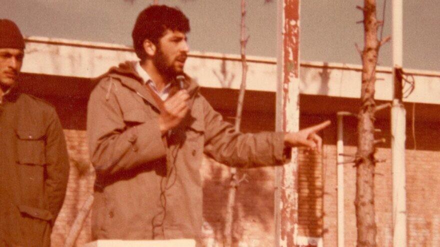 Ebrahim Raisi in the Iran-Iraq War era in the 1980s. He was sworn in as president of Iran on Aug. 5, 2021. Credit: Wikimedia Commons.