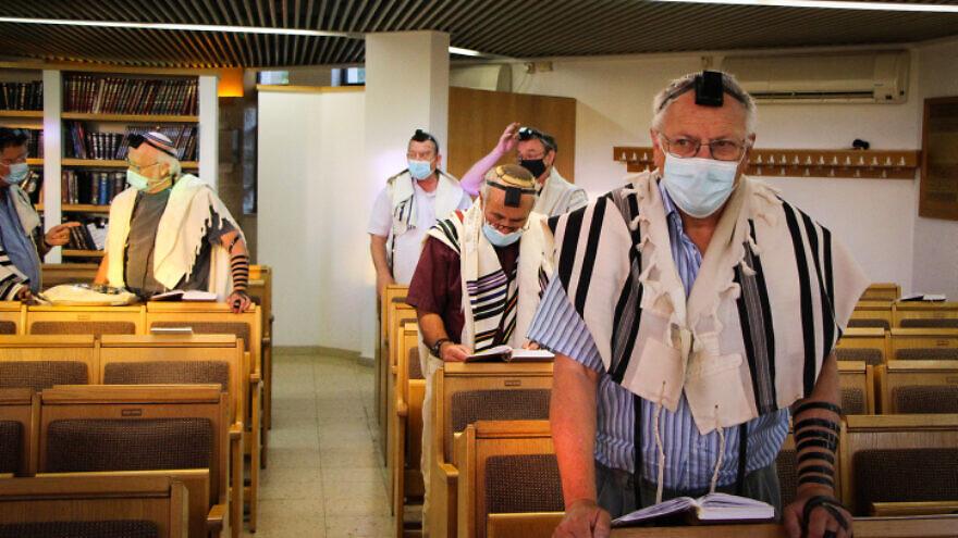 A synagogue in Efrat, Gush Etzion, June 27, 2021. Photo by Gershon Elinson/Flash90.