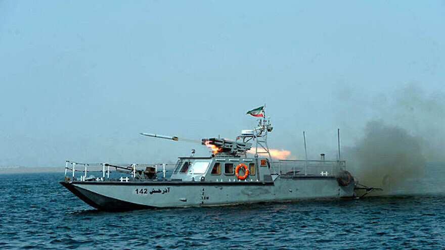 Iranian C-14 class missile boat. Credit: Wikimedia Commons.