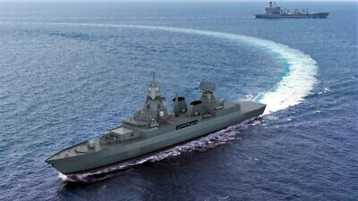 Israel Aerospace Industries and the German defense company Hensoldt will work to supply new radars to the German Navy, August 2021. Credit: IAI.