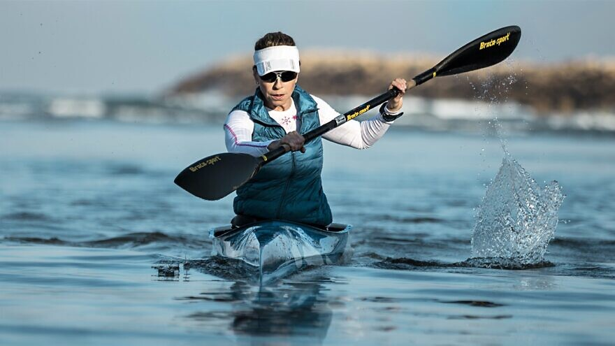 Israeli Paralympic athlete Pascale Bercovitch. Credit: Courtesy.