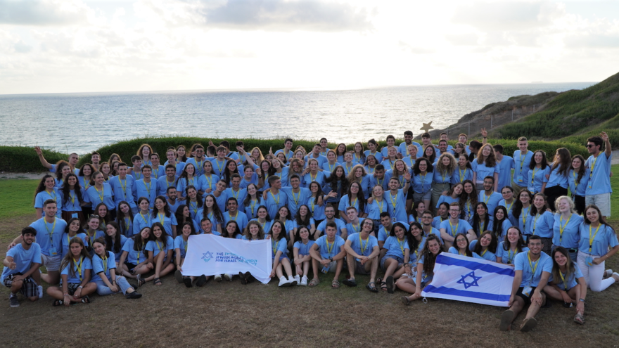 The Jewish Agency's ShinShinim emissaries in Israel before departing for communities around the world, August 2021 Photo by Amit Amar.