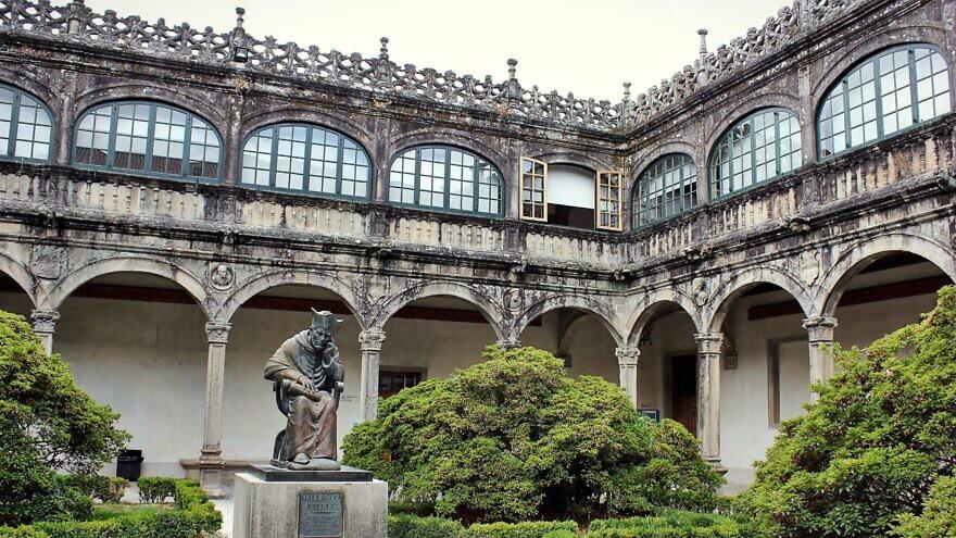 University of Santiago de Compostela, Spain, August 2017. Credit: Justraveling.com via Wikimedia Commons.