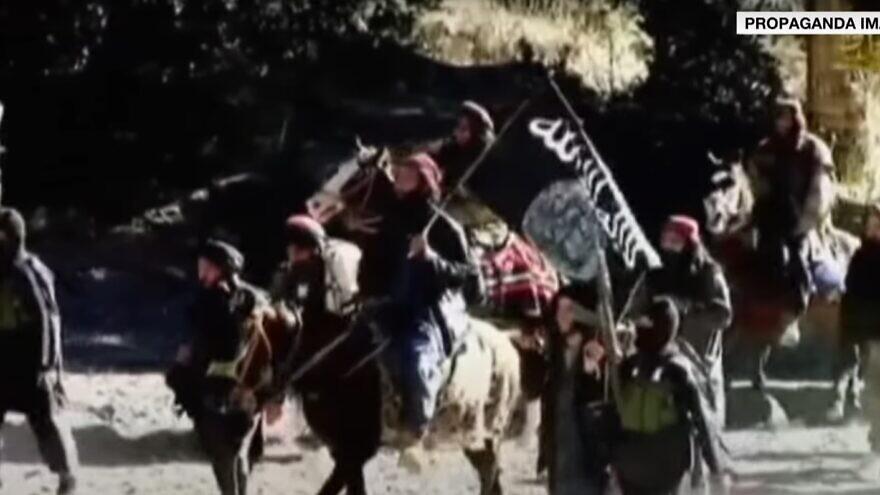 ISIS-K fighters in Afghanistan. Source: Screenshot.
