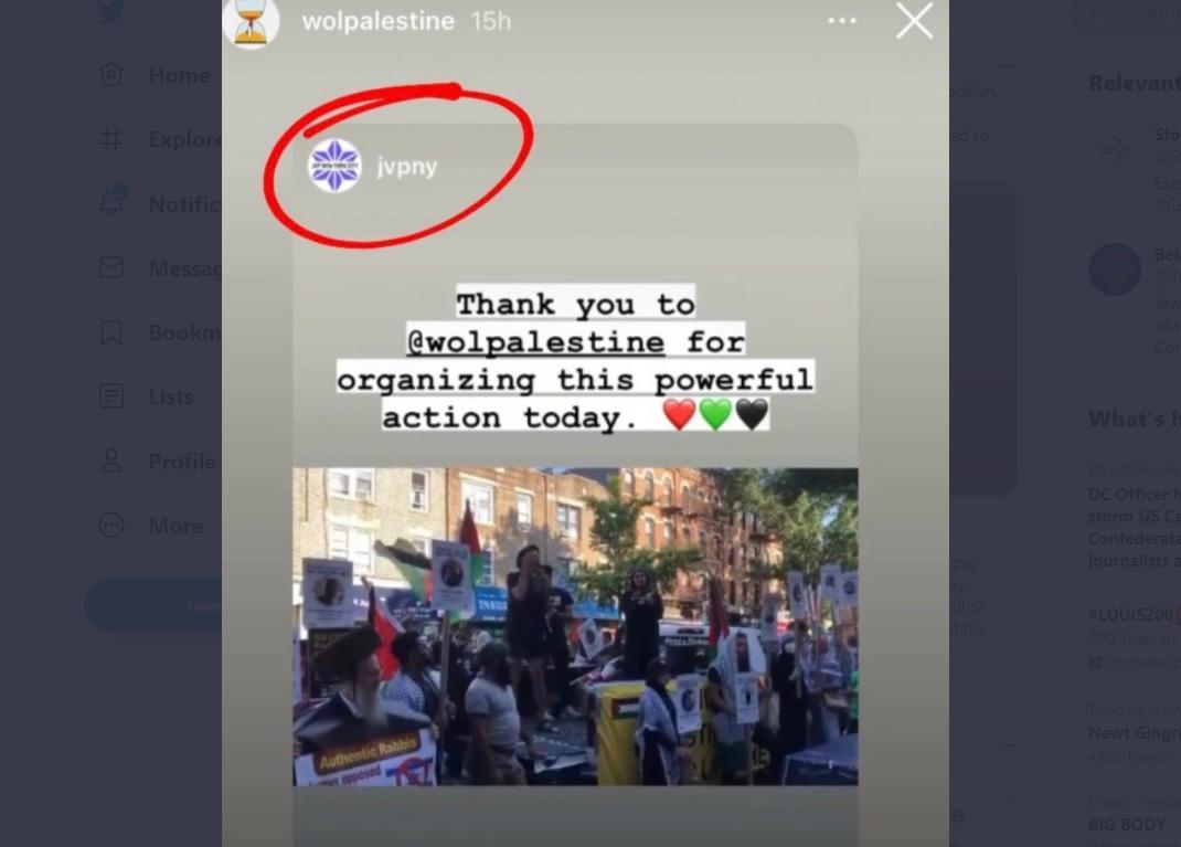 Jewish Voice for Peace linked to anti-Israel 'intifada rally' in Brooklyn