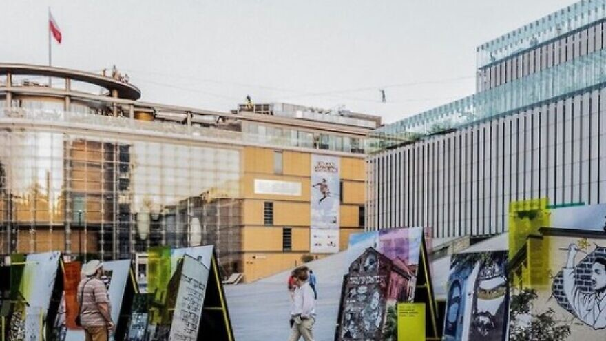 A new outdoor exhibition displays 30 murals from various places in Poland and tells the story of aspects of Jewish history there. Source: Screenshot/Instagram.