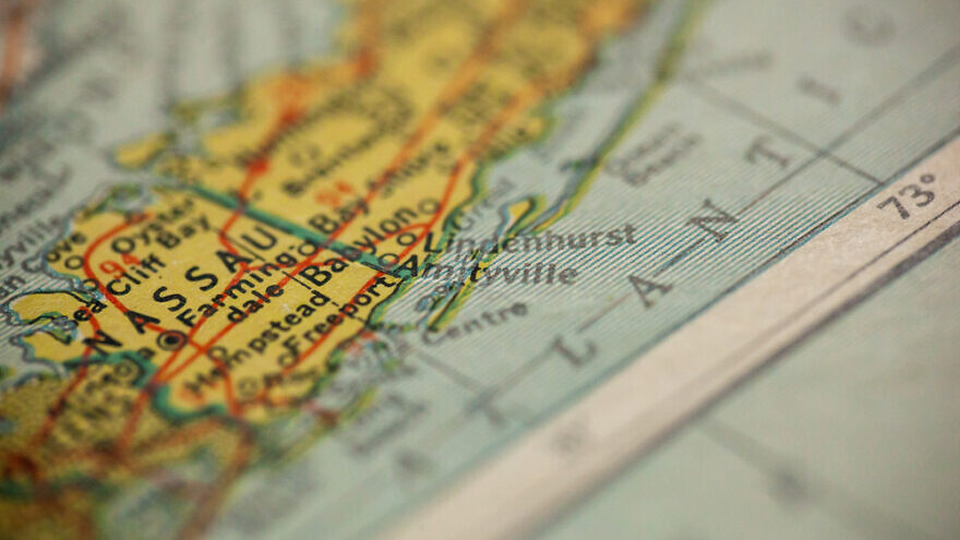 A map view of Long Island, N.Y. Credit: Erin Cadigan/Shutterstock.