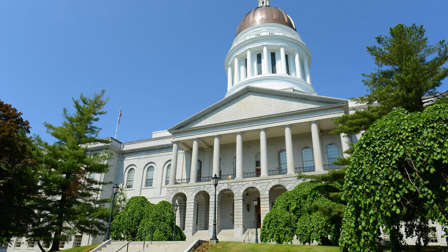 The Maine State House. Credit: Wangkun Jia/Shutterstock.