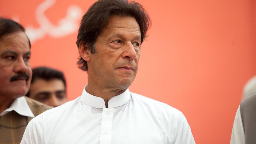 The Prime Minister of Pakistan, Imran Khan, in 2016. Credit: Awais khan/Shutterstock.