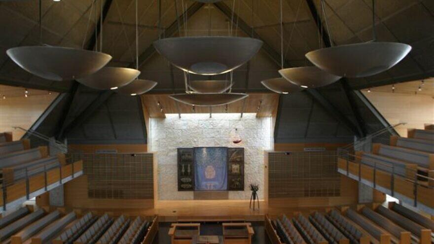 Congregation Agudas Achim in Austin, Texas. Credit: Texas Jewish Historical Society.