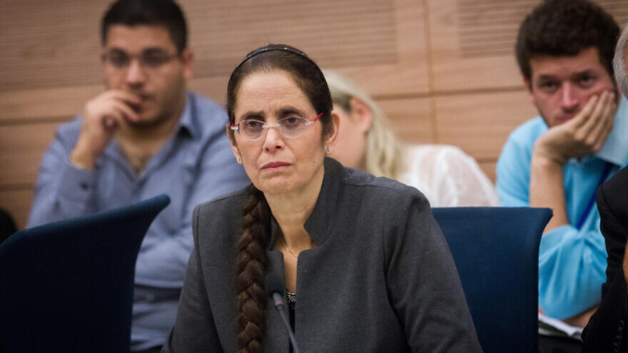 Likud Knesst member Anat Berko attends a Foreign Affairs and Security committee meeting at the Knesset, Nov. 19, 2015. Photo by Miriam Alster/Flash90.