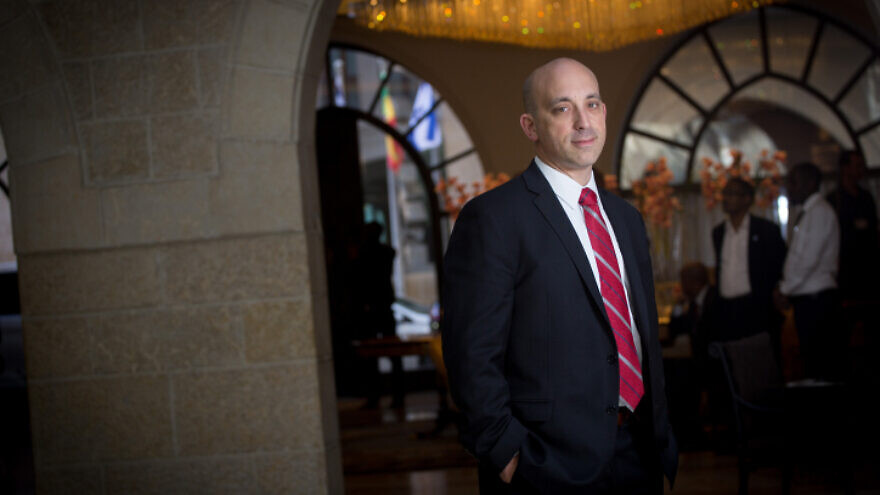 ADL national director and CEO Jonathan Greenblatt in Jerusalem, June 5, 2017. Photo by Miriam Alster/Flash90.