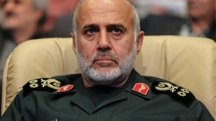 Maj. Gen. Gholam Ali Rashid, the head of Iran's Khatam al-Anbiyah Central Headquarters. Credit: Tehran Times.