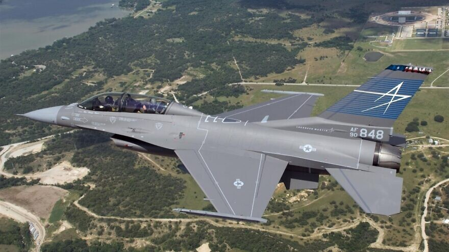 Israel Aerospace Industries will again produce wings for F-16 fighter jets, September 2021. Credit: Lockheed Martin.