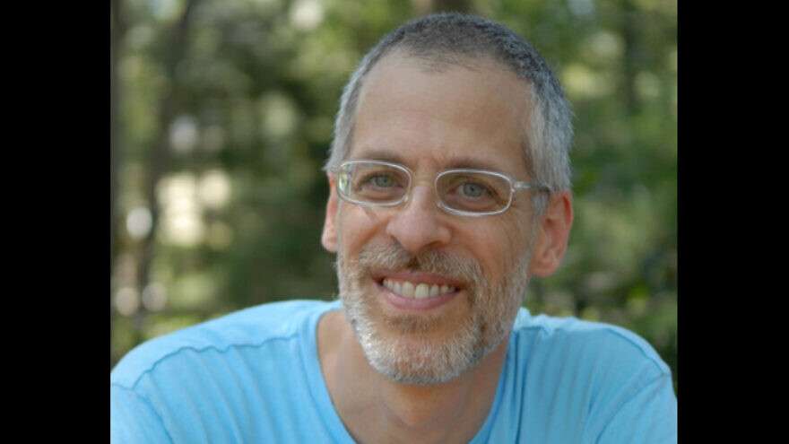 """Andrew Pessin, a philosophy professor at Connecticut College and author of """"Nevergreen."""" Credit: The Connecticut Jewish Ledger."""