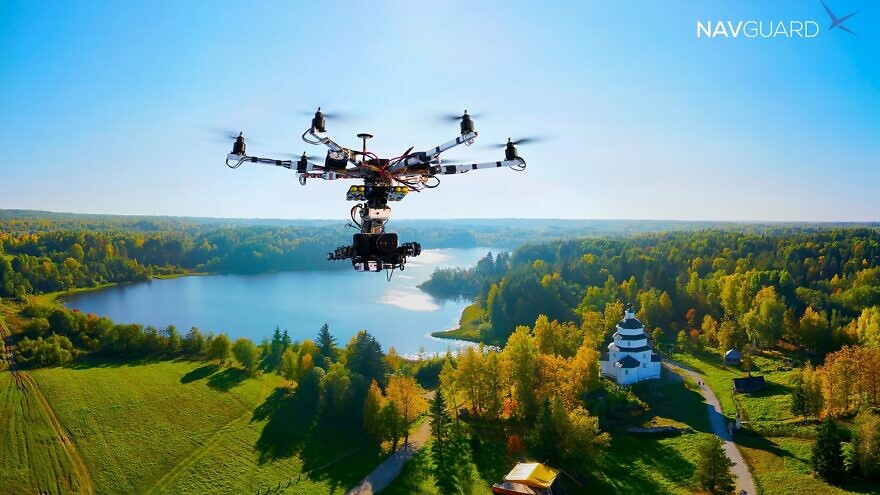 Asio has developed a system called NavGuard to provide drones with their own ability to process video feeds from on-board cameras, analyze their surroundings and convert that information into precise location information. Credit: Courtesy.