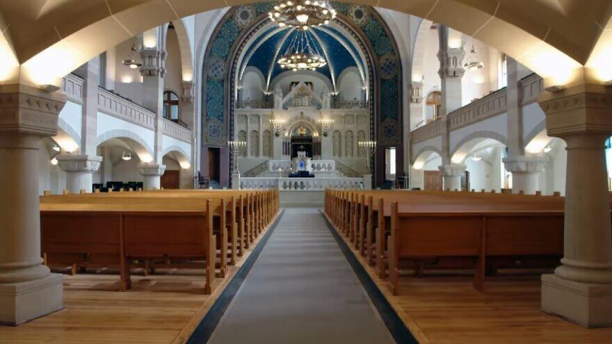 The Rykestrasse synagogue in Berlin. Credit: Jewish Community of Berlin.
