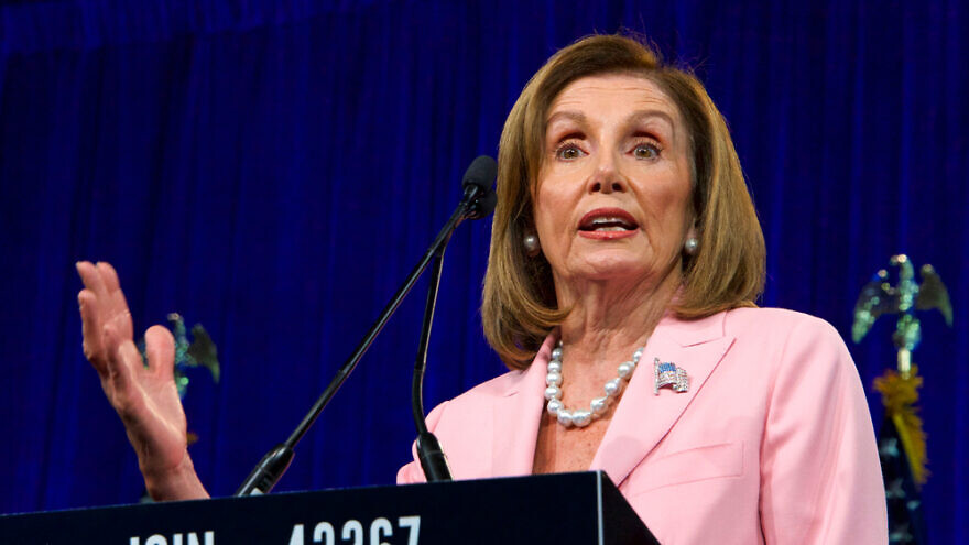Speaker of the House Nancy Pelosi. Credit: Sheila Fitzgerald/Shutterstock.
