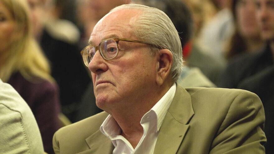 Jean-Marie Le Pen. Credit: Frederic Legrand, COMEO/Shutterstock.