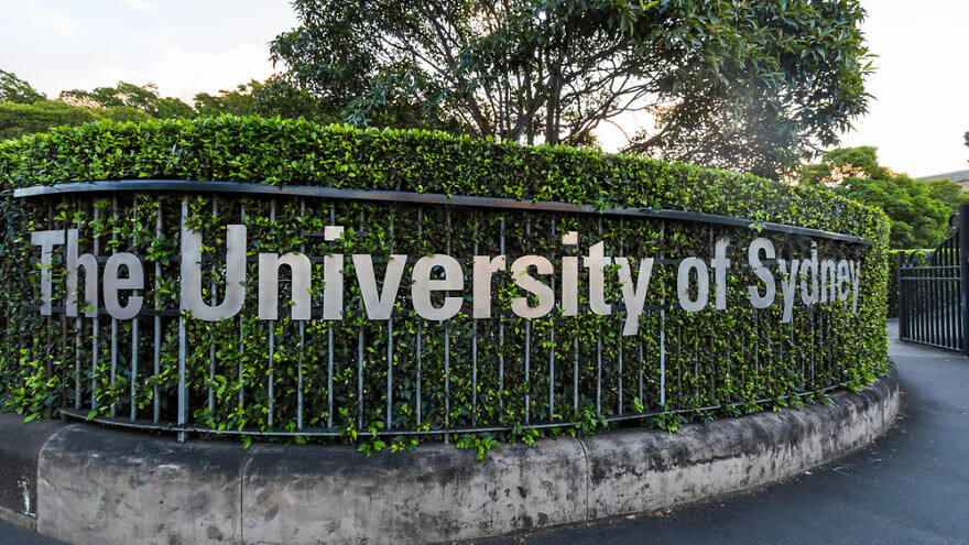 The entrance to the University of Sydney. Credit: e X p o s e/Shutterstock.