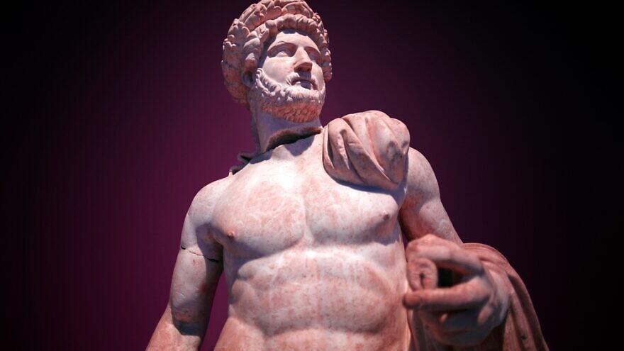 A statue of Roman Emperor Hadrian. Credit: Akimov Konstantin/Shutterstock.