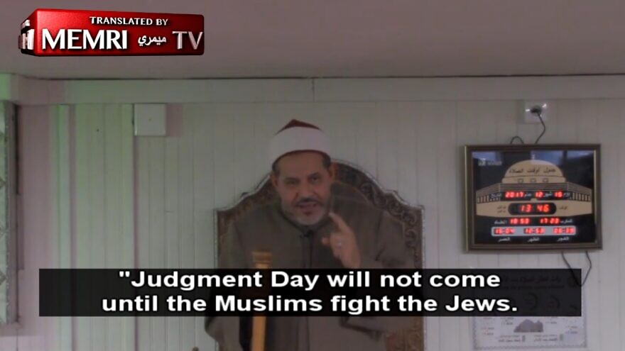 Mohamed Tataiat, imam of the Grand Mosque in Toulouse, France. Source: Screenshot.