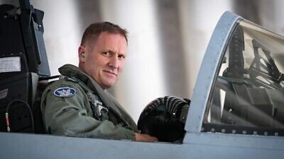 Maj. Gen. Tomer Bar. Credit: Israeli Air Force.