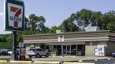 A 7-Eleven location in Madison Heights, Mich. Credit: Luca Ferretti/Flickr via Wikimedia Commons.