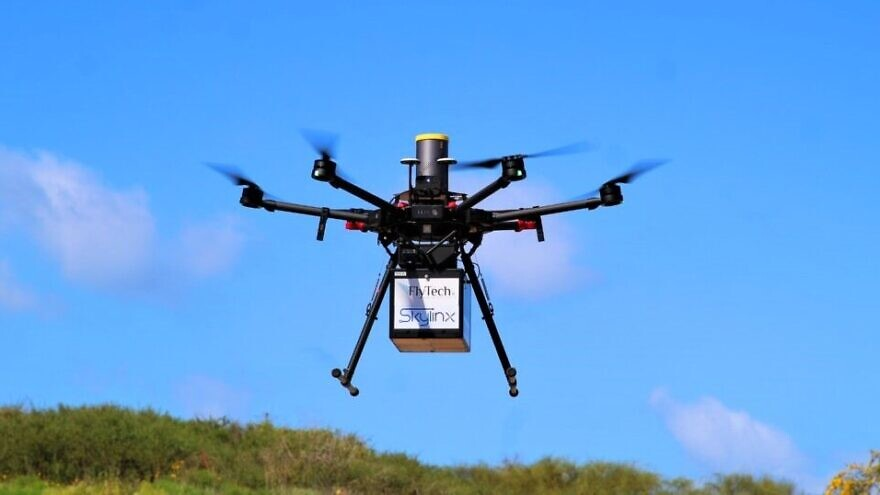 FlyTech drone. Credit: Courtesy.