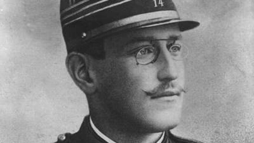 French Jewish Capt. Alfred Dreyfus. Source: Screenshot.
