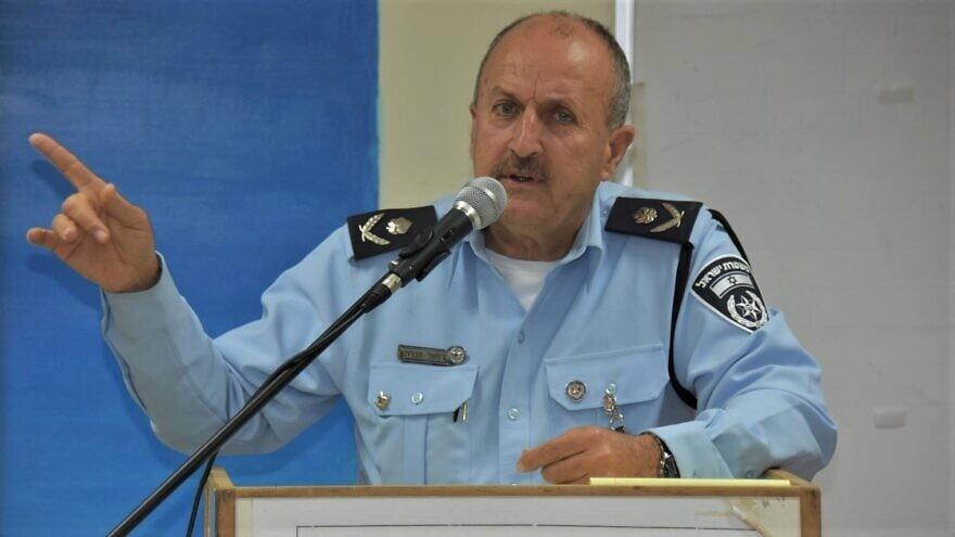 Israeli Police Commander Jamal Hakrush. Credit: Wikimedia Commons.