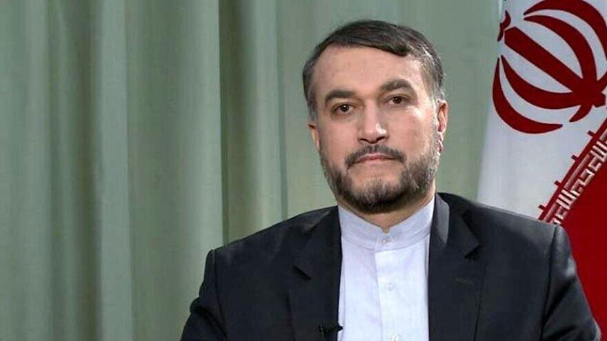 Iranian Foreign Minister Hossein Amir-Abdollahain. Credit: Tehran Times.
