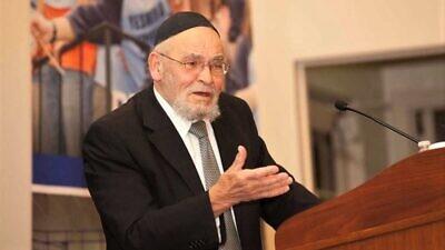 Rabbi Moshe Tendler. Courtesy of Yeshiva University/The Commentator.