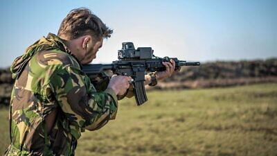 The Israeli defense company Smash Shooter specializes in fire-control systems. Credit: Courtesy.
